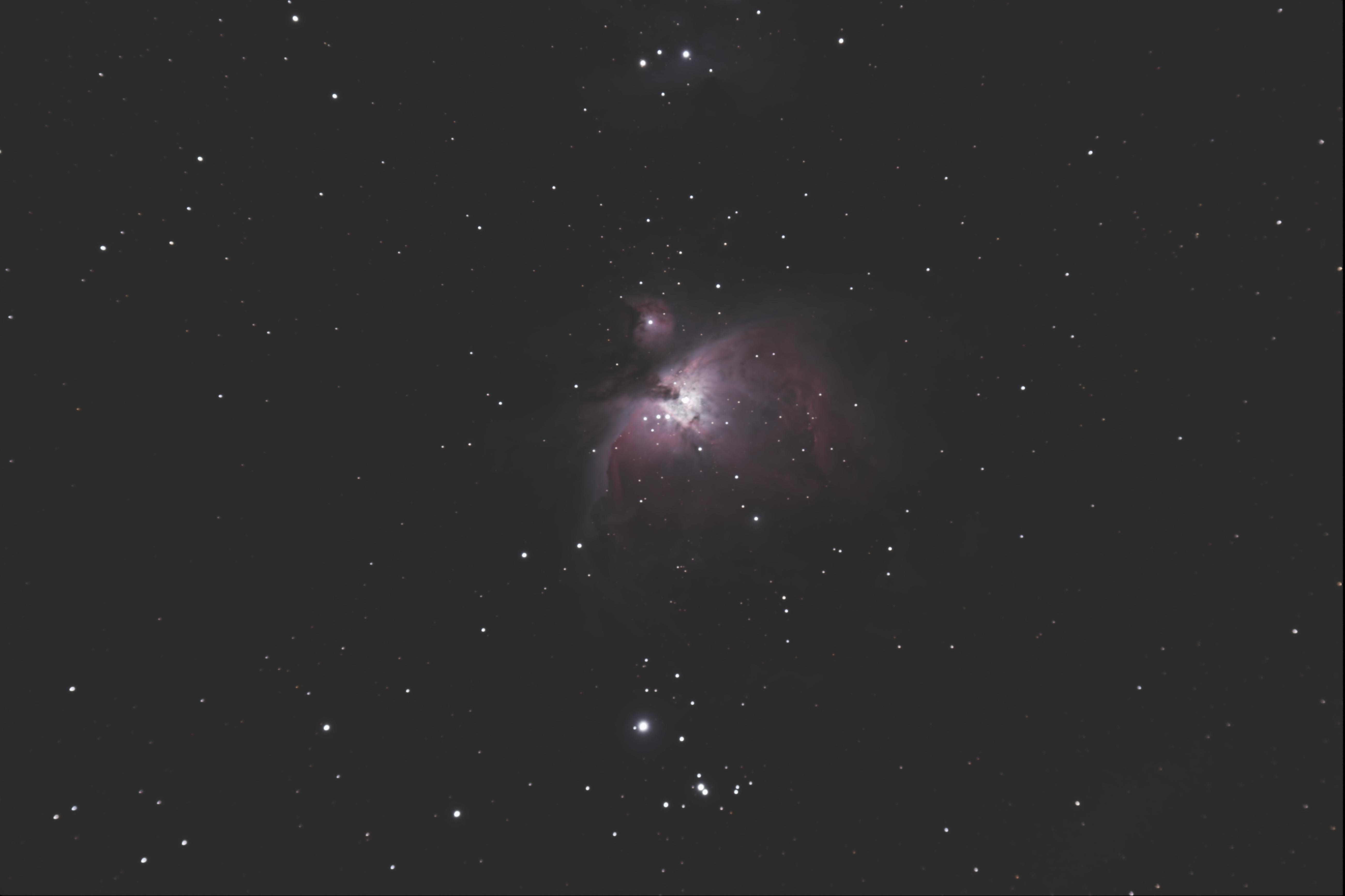 M42 grande nébuleuse d'Orlon
