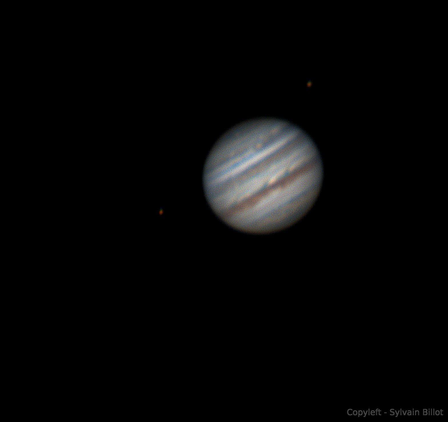 Jupiter depuis l'OAO