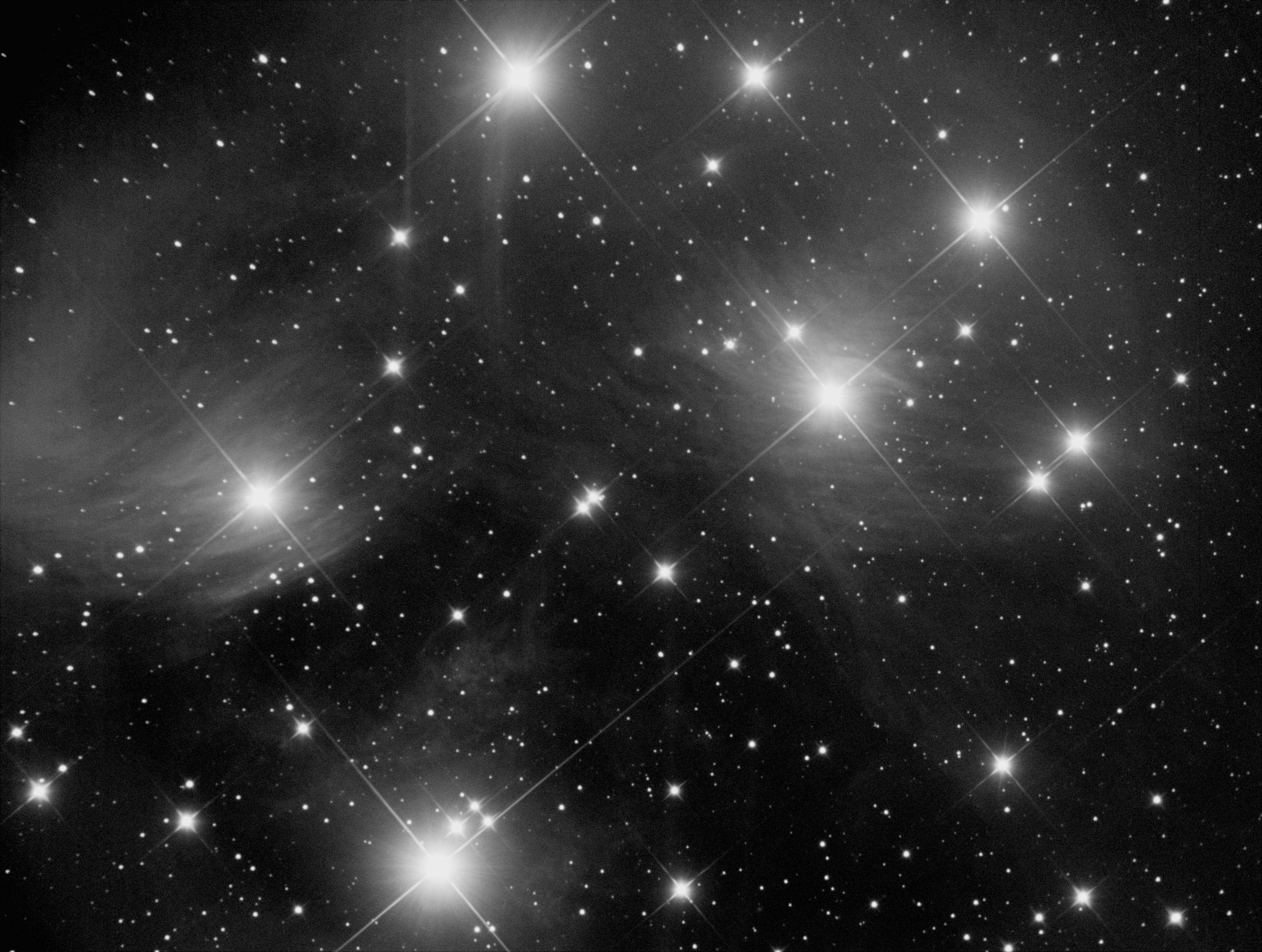 Nébuleuse d 'Orion luminance