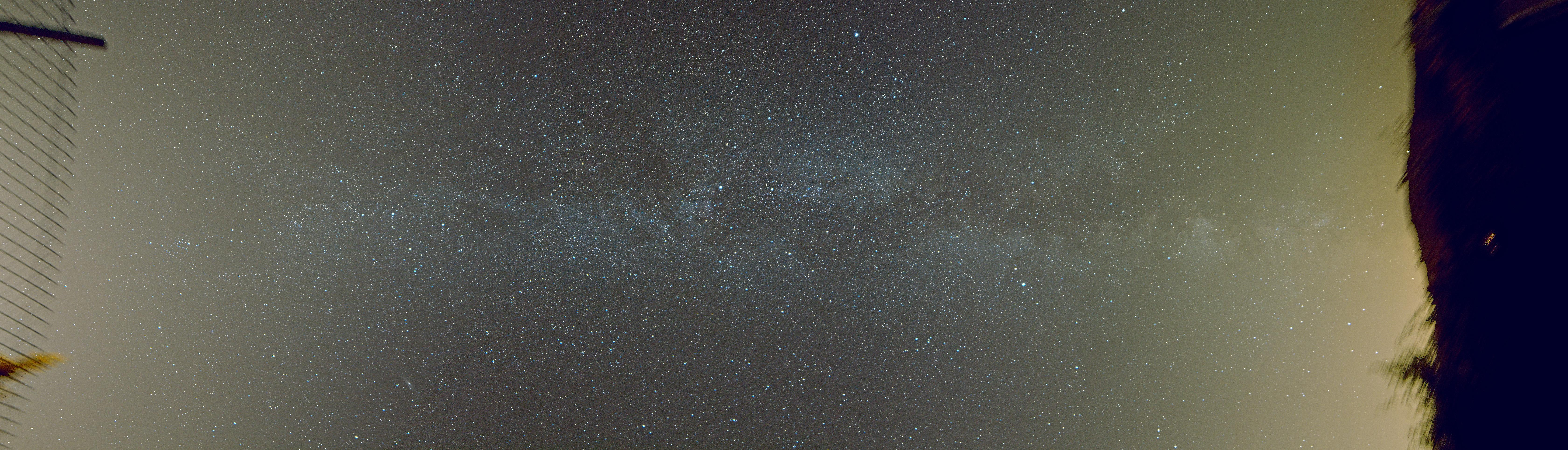 Voie lactée depuis le pré aux étoiles
