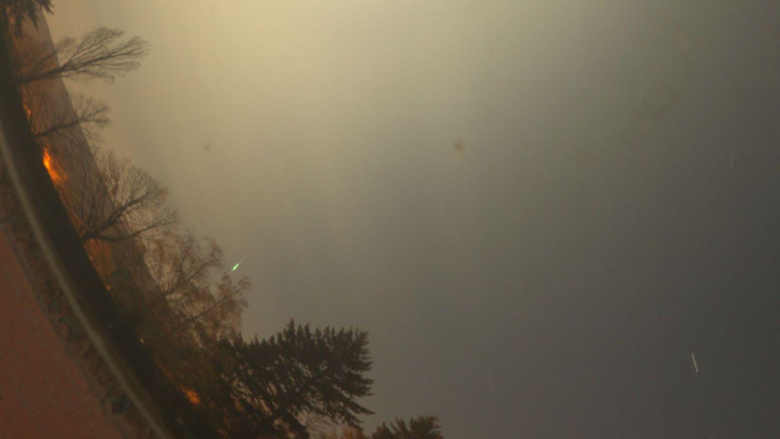 Détails détection météore